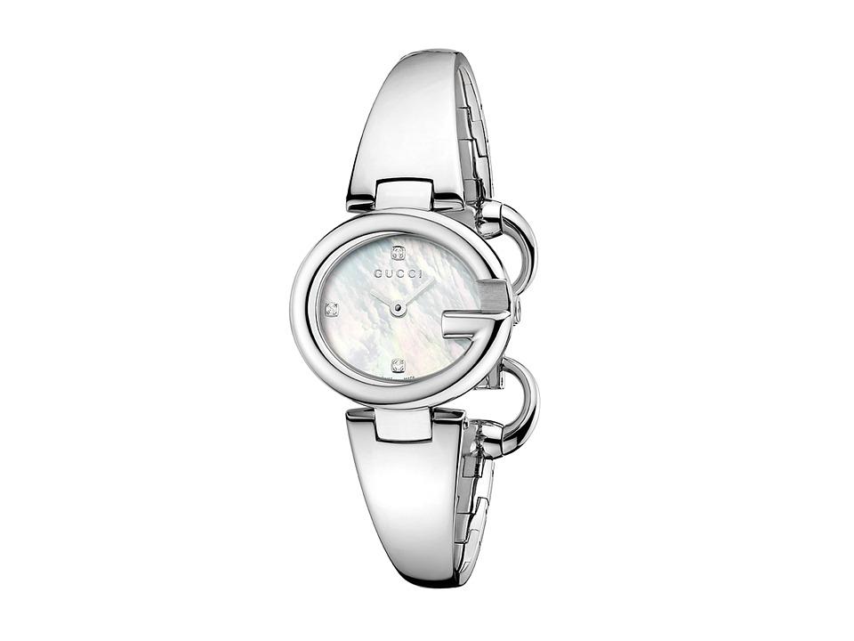 Gucci - Guccissima 27mm Stainless Steel Bangle Watch-YA134504