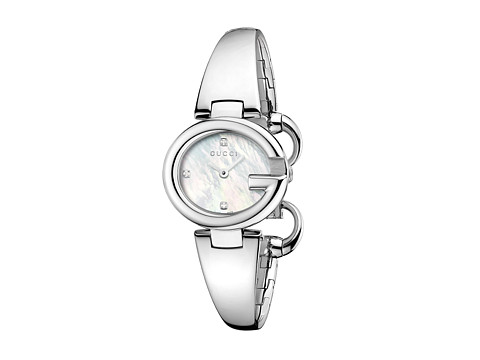 Gucci Guccissima 27mm Stainless Steel Bangle Watch-YA134504