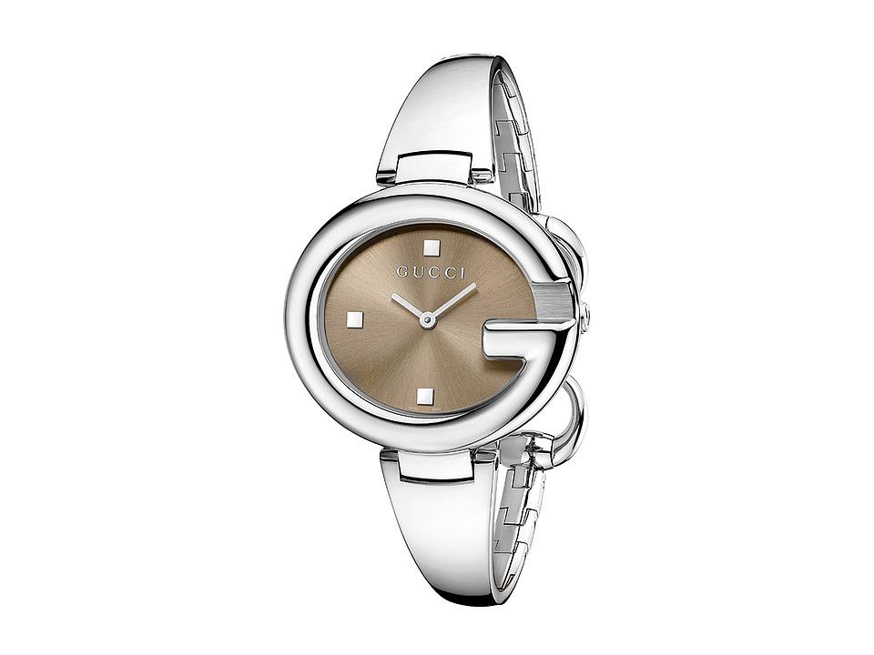 Gucci - Guccissima 36mm Stainless Steel Bangle Watch-YA134302