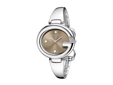 Gucci Guccissima 36mm Stainless Steel Bangle Watch-YA134302