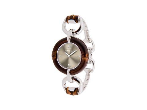 Gucci Bamboo 35mm Stainless Steel Bangle Watch-YA132402