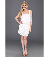 Jessica Simpson - Sleeveless Blouson Lace Contrast Dress