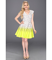 Jessica Simpson - Print Ombre Fit and Flare Dress