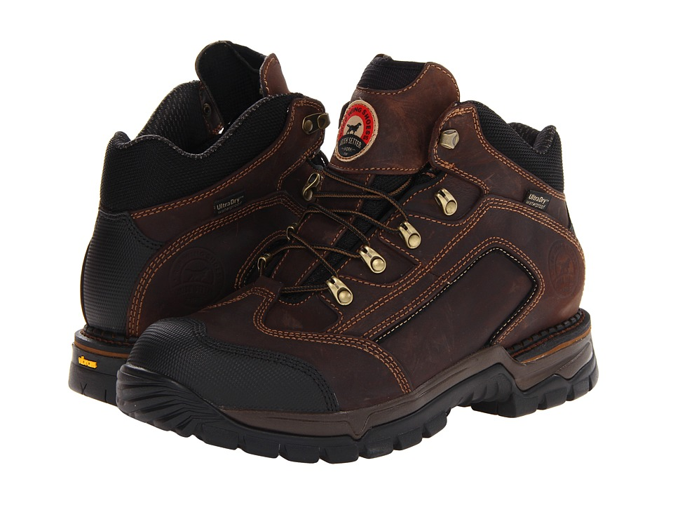 Irish Setter 83403 5 Waterproof Hiker Brown Mens Work Boots