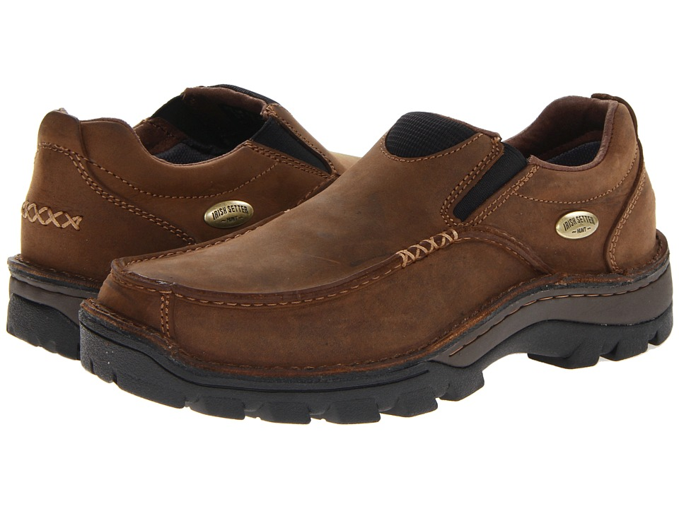 Irish Setter Borderland Slip On (Brown) Men's Slip on  Shoes