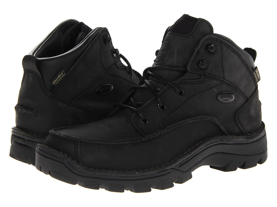 Irish Setter Borderland Chukka Black Mens Boots