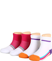 Stride Rite - 4pk Half Cushion Sporty Girl (Infant/Toddler)