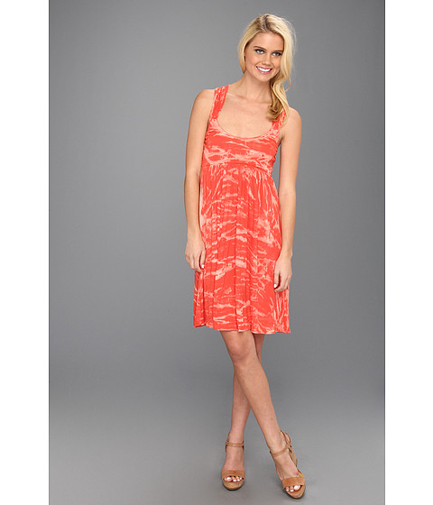 Cheap Rachel Pally Rib Memphis Dress Apricot Tie Dye