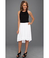 DKNYC - Sleeveless Dress w/ Chiffon Skirt