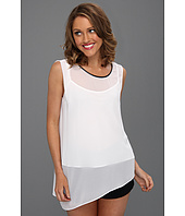 DKNYC - Sleeveless Asymmetrical Top