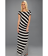 DKNYC - S/S Striped Maxi Dress