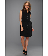 DKNYC - Sleeveless Button Thru Dress