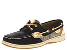 Sperry Top-Sider - Bluefish 2-Eye (Black/Gold Damask Floral) - Footwear