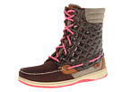 Sperry Top-Sider - Hiker Fish (Brown Nubuck/Cire/Neon Pink) - Footwear