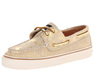 Sperry Top-Sider - Bahama 2-Eye (Gold Metallic Camoe Suede) - Footwear