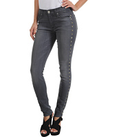 Hudson - Nico Mid Rise Super Skinny in Alloy Studded