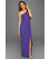 BCBGMAXAZRIA - Kendal One-Shoulder Ruffled Evening Gown