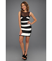 BCBGMAXAZRIA - Mara Colorblock Fitted Dress