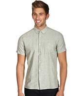Ben Sherman - Laundered Cotton and Linen S/S Woven Shirt