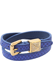 Michael Kors Collection - Double Wrap Pyramid Bracelet