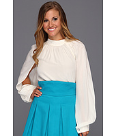 Bri Seeley - Chloe Blouse Silk Crepe De Chine Blouse