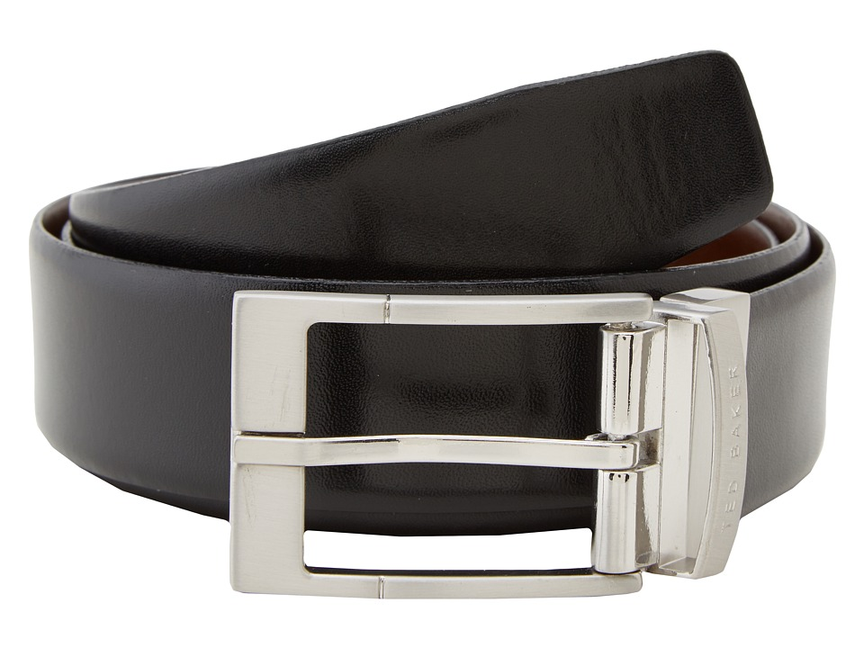 Ted Baker - Connary Reversible Belt (Black) Mens Belts