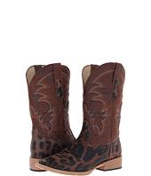 Roper - Square Toe Leopard Print Cowboy Boot