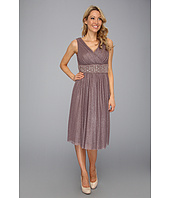 Jessica Howard - Surplice Sparkle Mesh with Beaded Waist