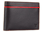 w rkin stiffs Full-Size 8 Pocket Wallet (Red)