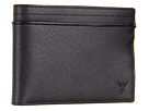w rkin stiffs Full-Size 8 Pocket Wallet (Black)