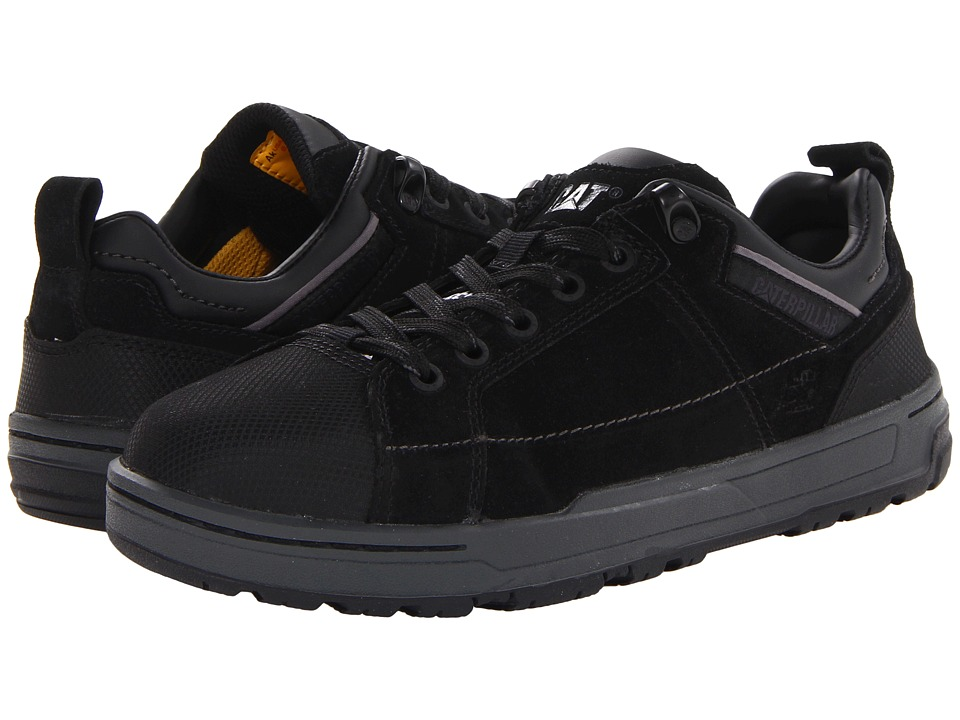 Caterpillar Brode ST Black Suede Womens Industrial Shoes