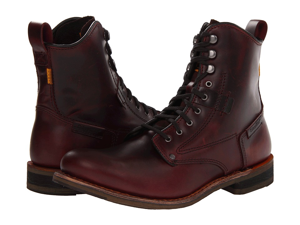 Caterpillar Orson (Oxblood Full Grain Leather) Men
