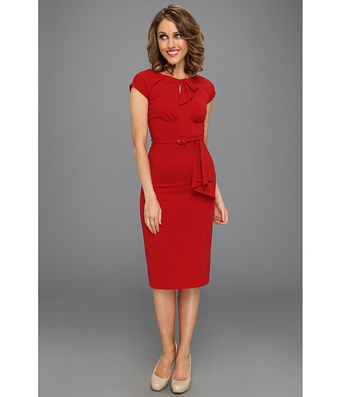 Stop Staring! for The Cool People - Timeless Fitted Dress (Red) - Apparel