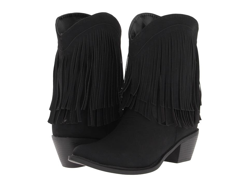 Roper 8 Fringe Boot (Black Fringe) Cowboy Boots