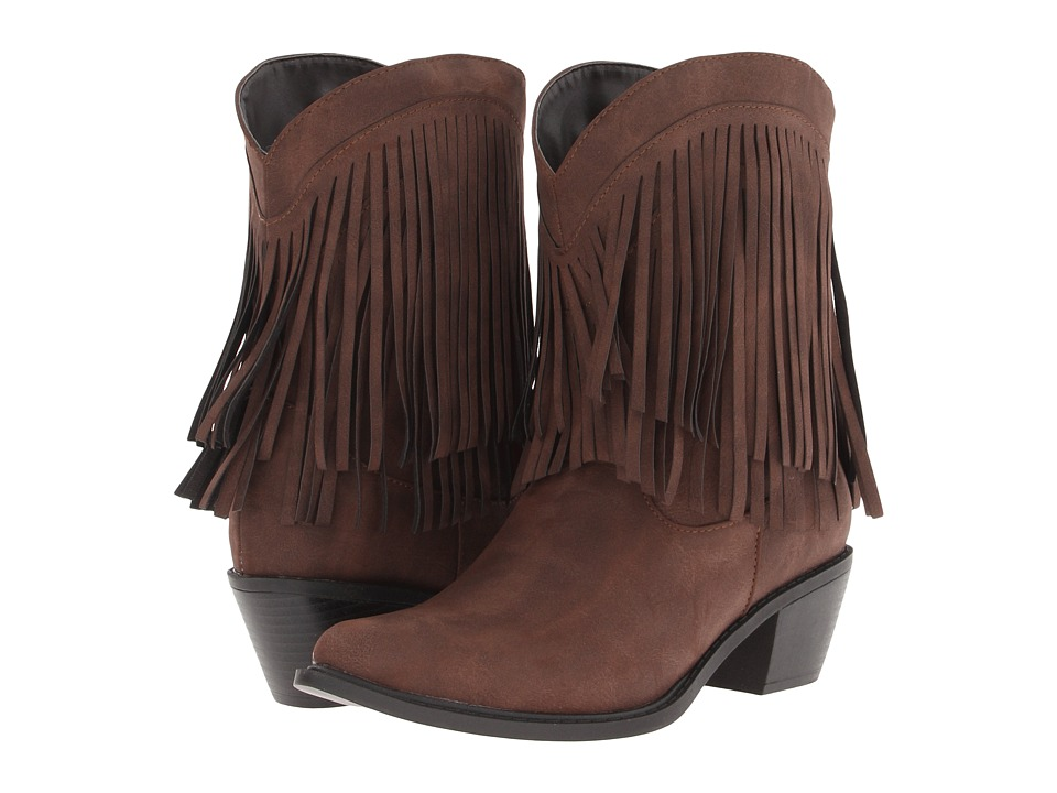 Roper 8 Fringe Boot (Brown) Cowboy Boots