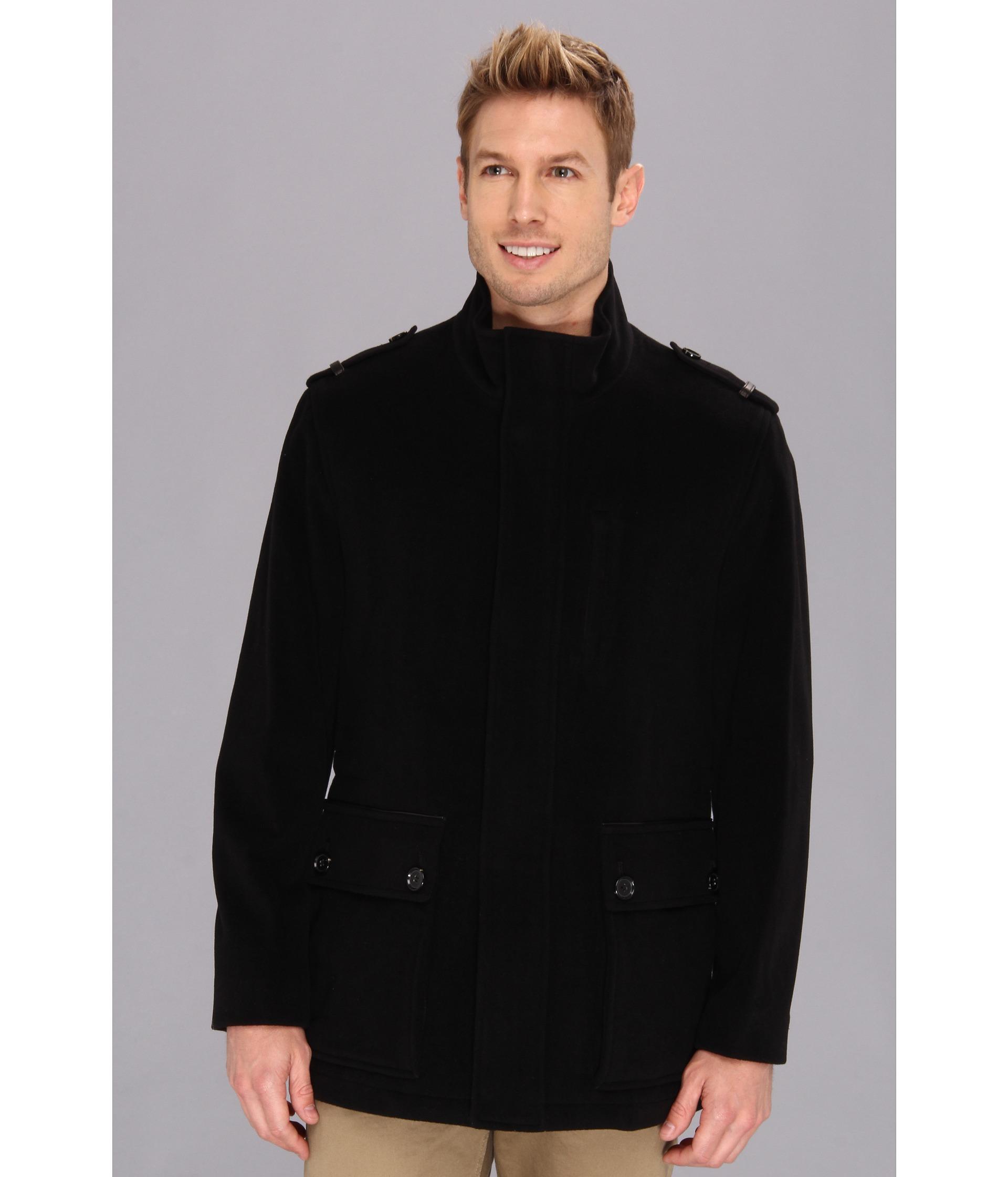 Coats &amp Outerwear Men Pea Coats at 6pm.com
