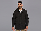 Cole Haan Zip-Off Hood Anorak w/ Leather Trim