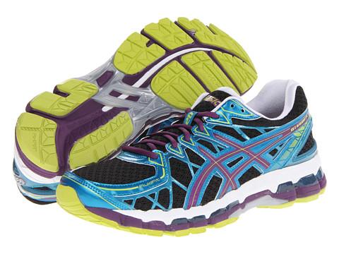 ASICS Gel-Kayano 20 (Black/Plum/Blue) Women's Running Shoes
