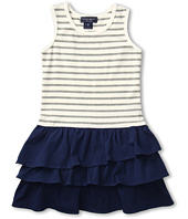 Toobydoo - Girls' Tank Ruffle Dress (Toddler/Little Kids/Big Kids)