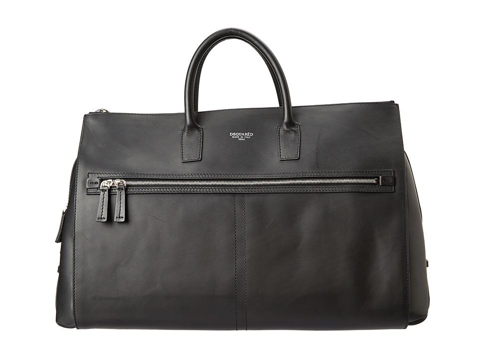 DSQUARED2 - Daniel Duffle (Black) Duffel Bags