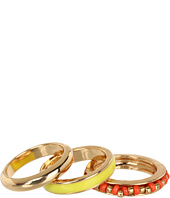GUESS - 3 Piece Banded Ring Set