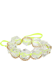 GUESS - Ribbon Bracelet with Lucite Stones and Chains