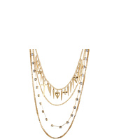 GUESS - Four-Row Mixed Chain Necklace