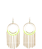 GUESS - Wire Earrings wtih Fringe