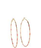 GUESS - Stationed Hoop Earring