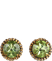 GUESS - Faceted Stone Button Earrings