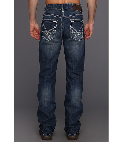 Rock And Roll Cowboy Mens Boot Cut Jean In Dark Wash