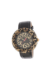 Betsey Johnson - BJ00234-02 Analog Leopard Pave Dial Watch