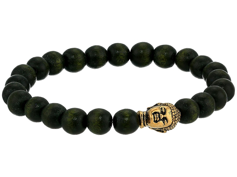 Dee Berkley - Waivering Bracelet (Green) Bracelet