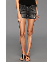 AG Adriano Goldschmied - Bonnie Cut-Off Shorts in 4 Years Black